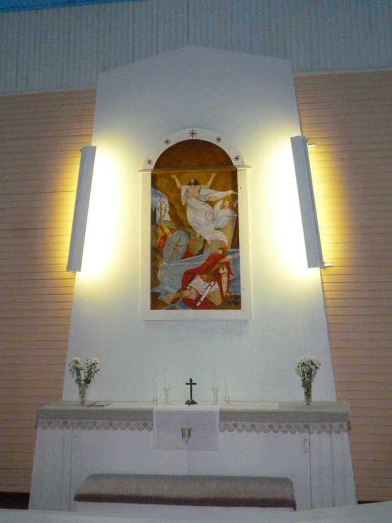 January 2012. Lutheran church in Ruskeala