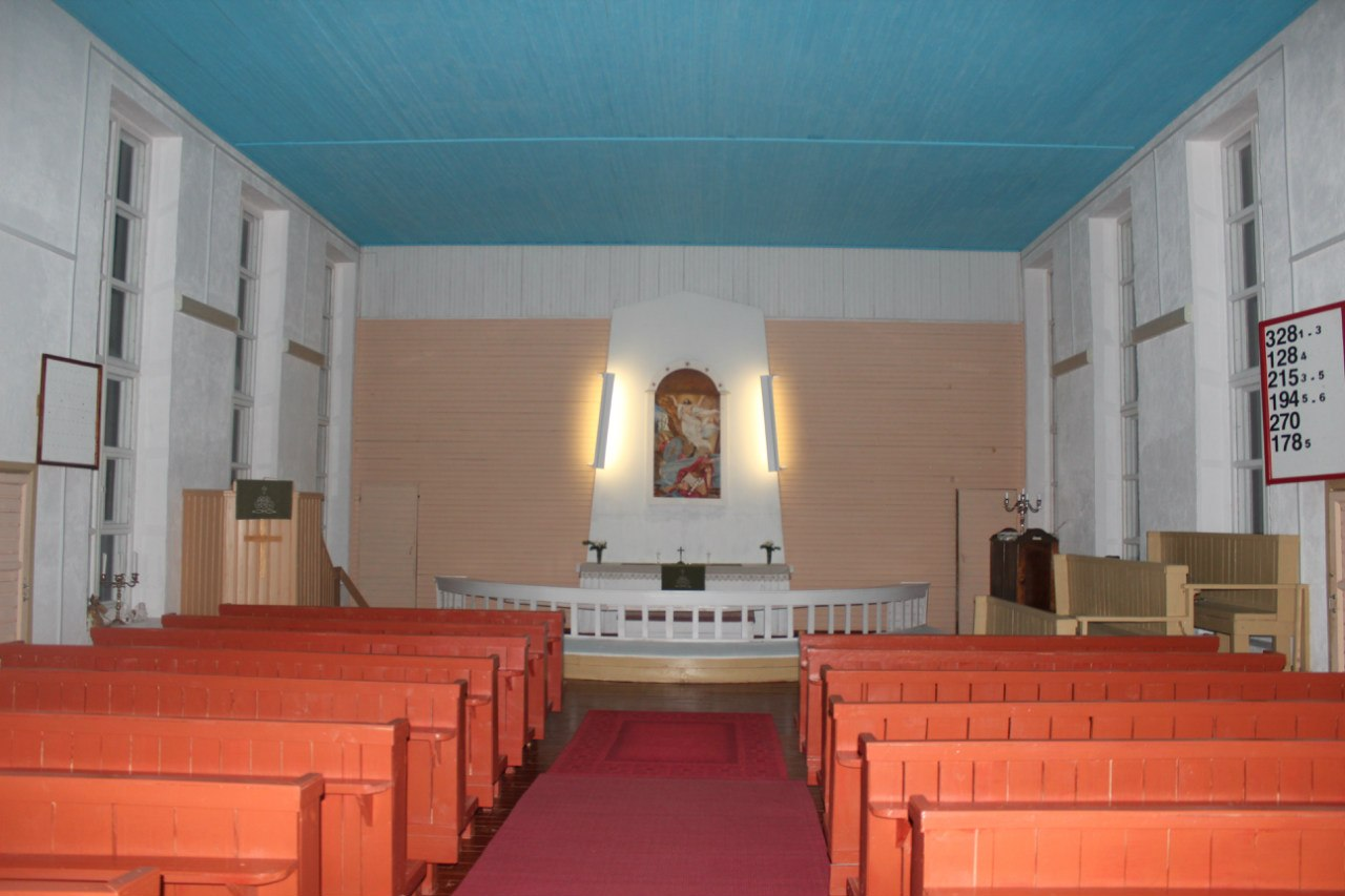 January 2013. Lutheran church in Ruskeala