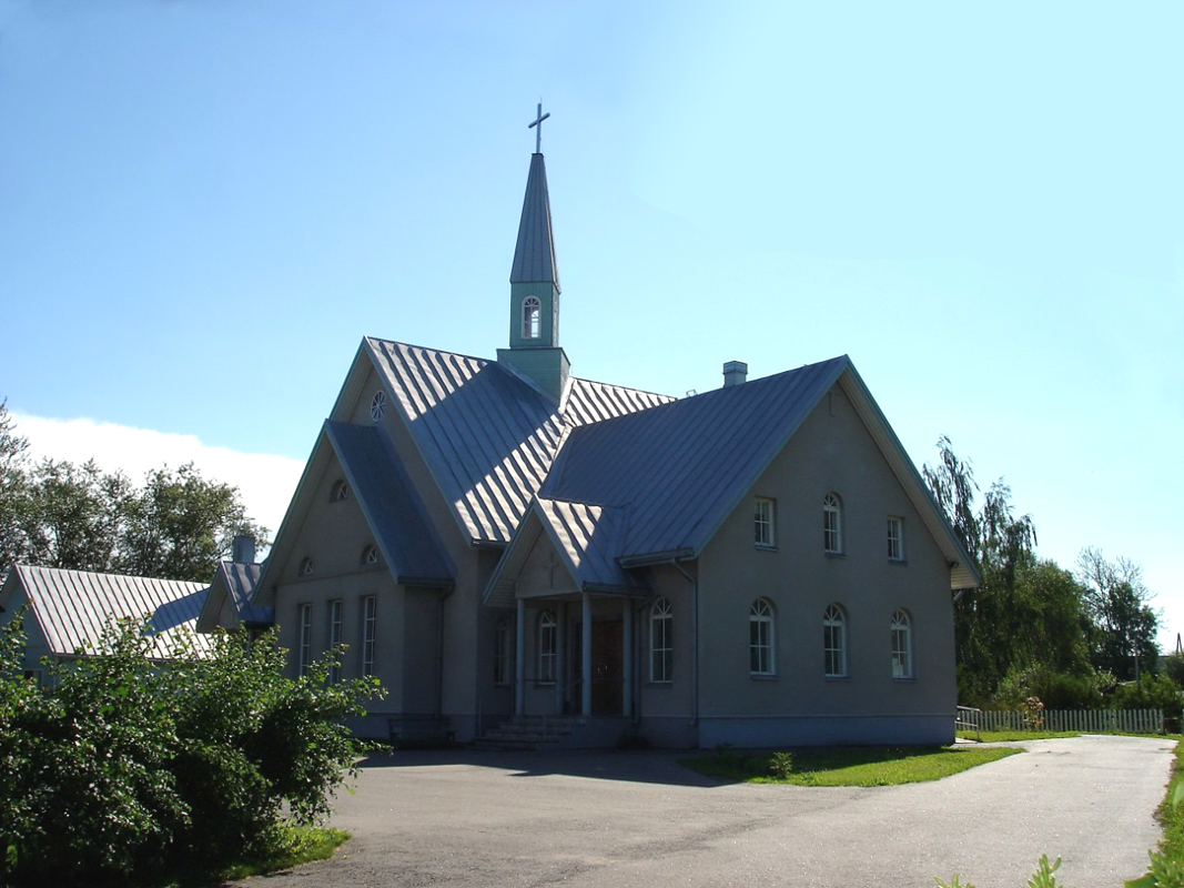 July 28, 2008. Lutheran church in Olonets