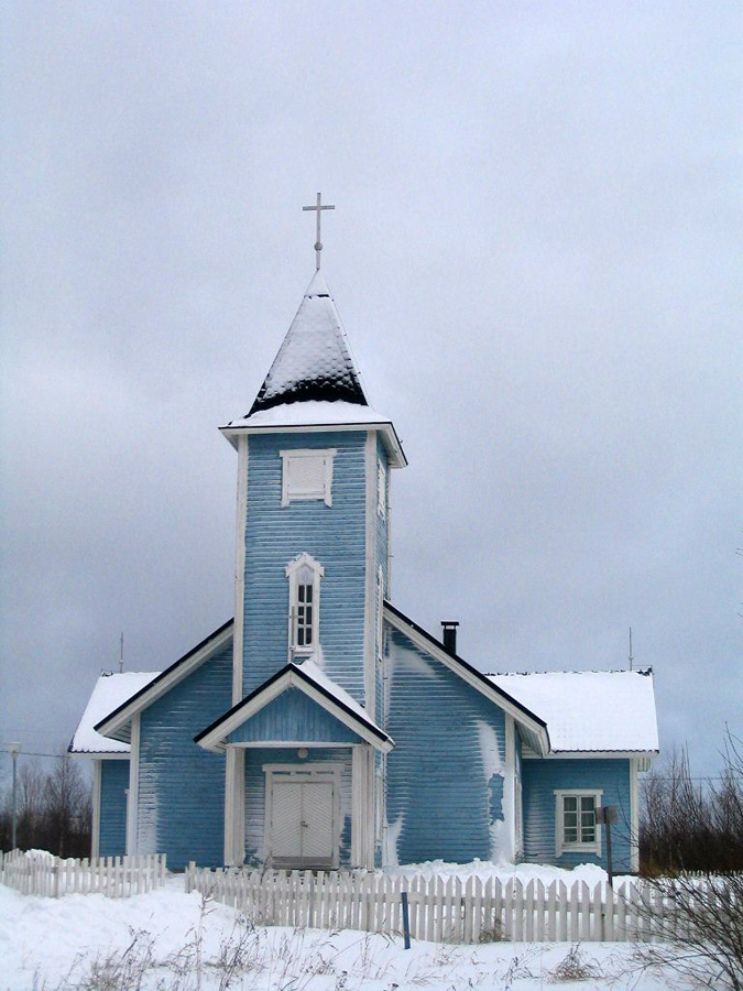 2012. Lutheran church in Kalevala