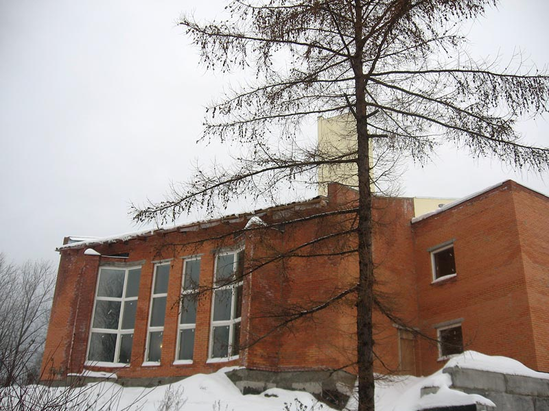 February 20, 2008. Lutheran church in Petrosavodsk
