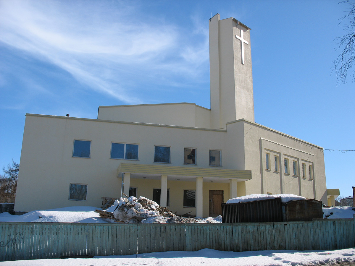 April 9, 2009. Lutheran church in Petrosavodsk