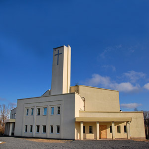 October 18, 2009. Lutheran church in Petrosavodsk