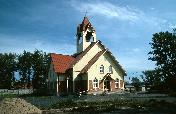 July 28, 2004. Lutheran church in Kondopoga