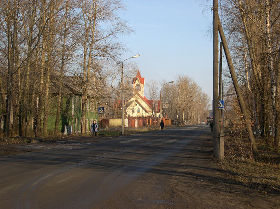 2005. Lutheran church in Kondopoga