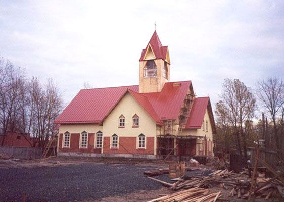 2004. Lutheran church in Kondopoga