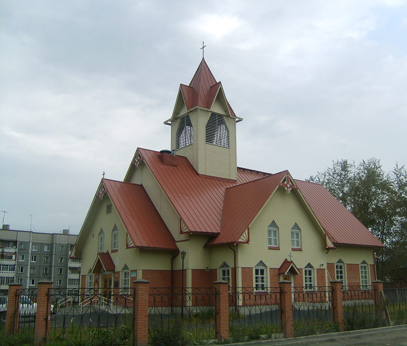 August 22, 2007. Lutheran church in Kondopoga