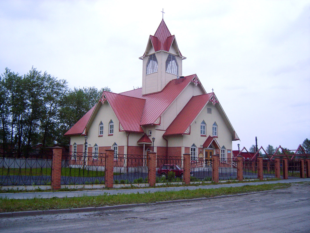 2009. Lutheran church in Kondopoga