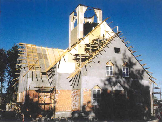 2003. Lutheran church in Kondopoga