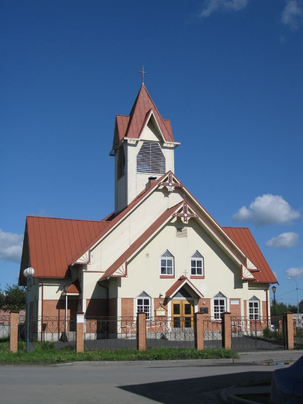 August 2011. Lutheran church in Kondopoga