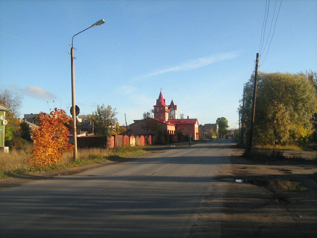 October 2, 2011. Lutheran church in Kondopoga