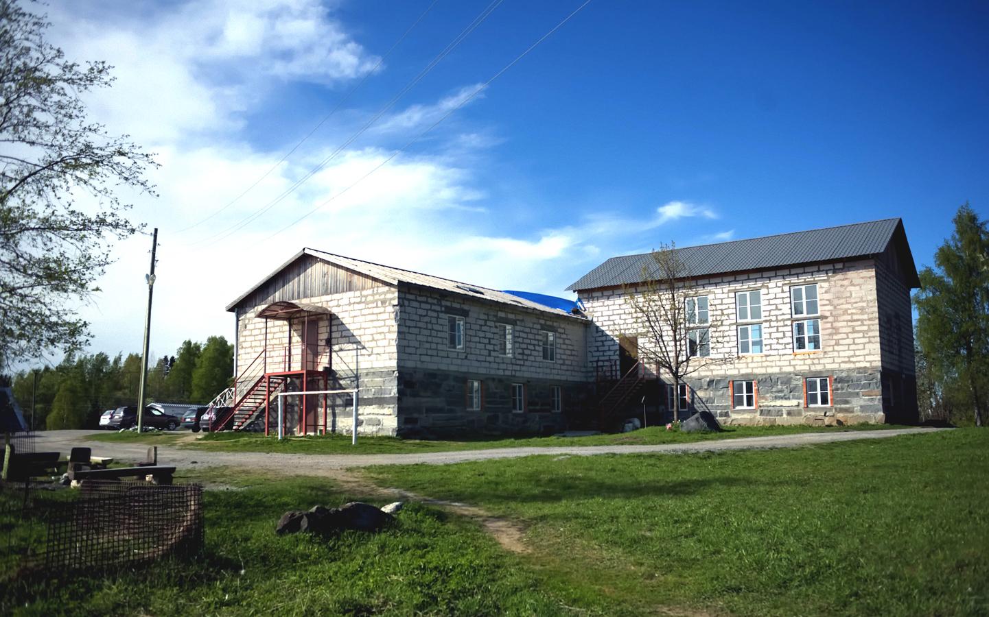 May 13, 2016. Lutheran church in Ruskeala