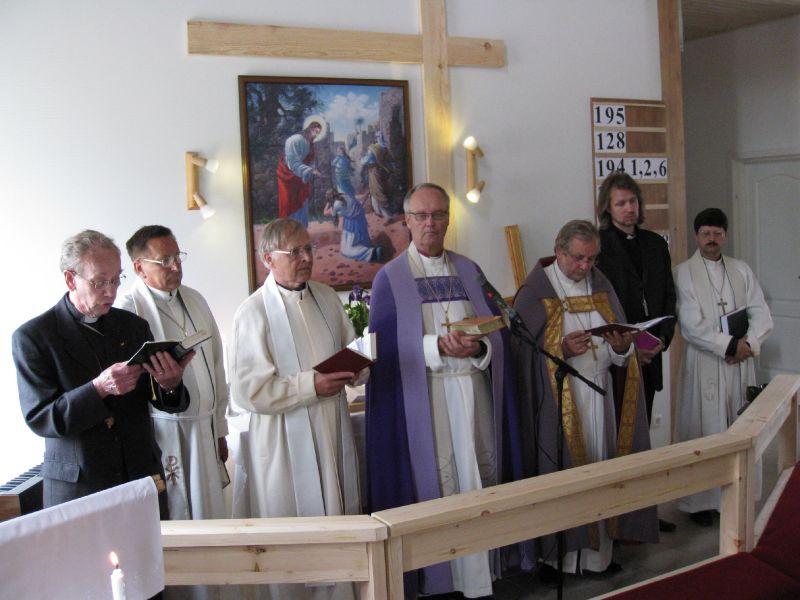 June 19, 2011. Lutheran church in Läskelä