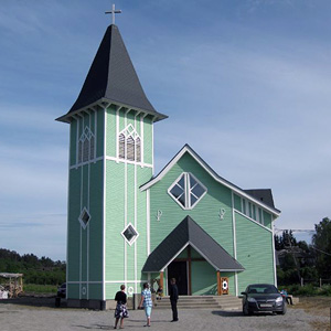 June 19, 2011. Lutheran church in Läskelä