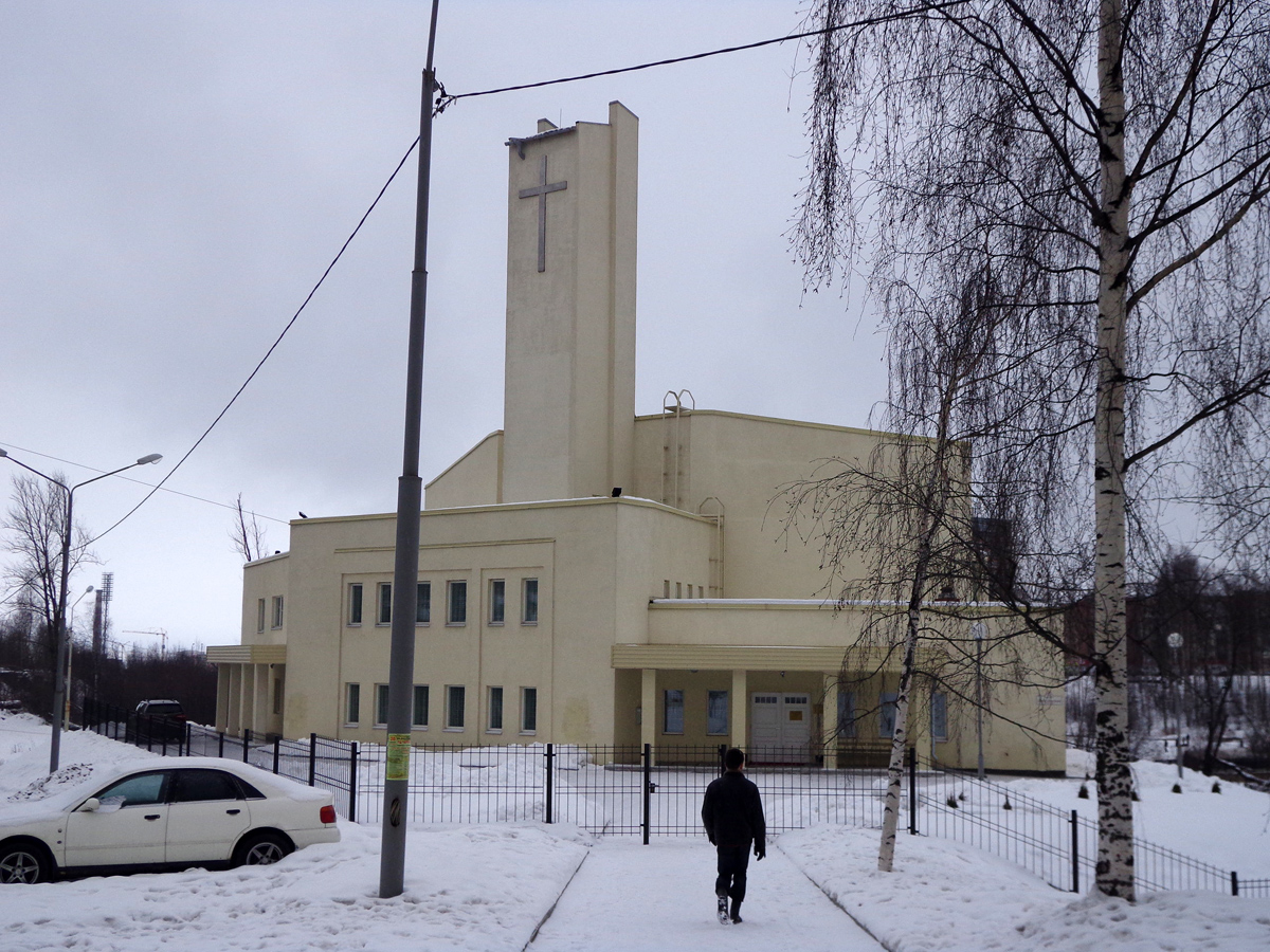 February 15, 2014. Lutheran church in Petrosavodsk