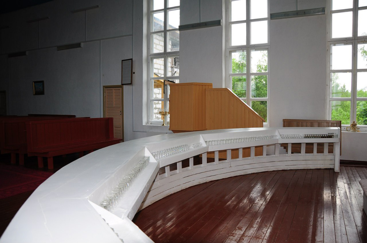 June 10, 2012. Lutheran church in Ruskeala