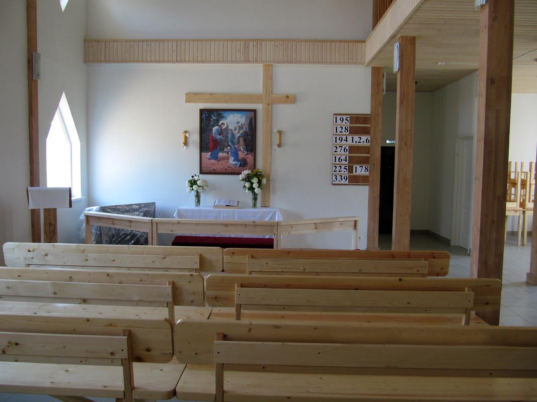 22 июня 2011 года. Лютеранская церковь в Ляскеля