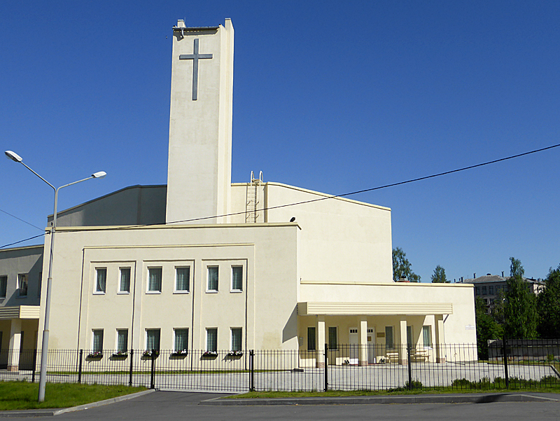 June 18, 2014. Lutheran church in Petrosavodsk