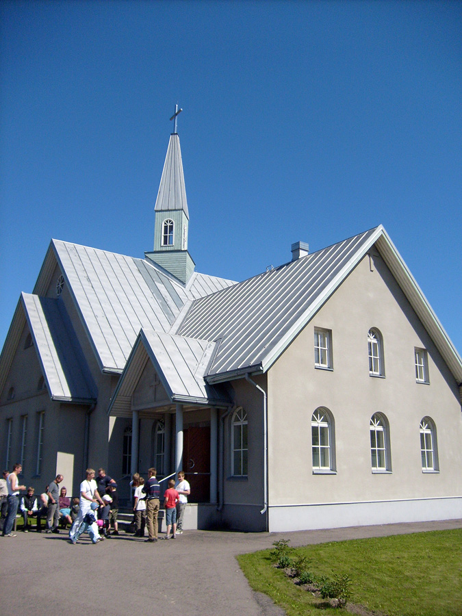 June 27, 2008. Lutheran church in Olonets