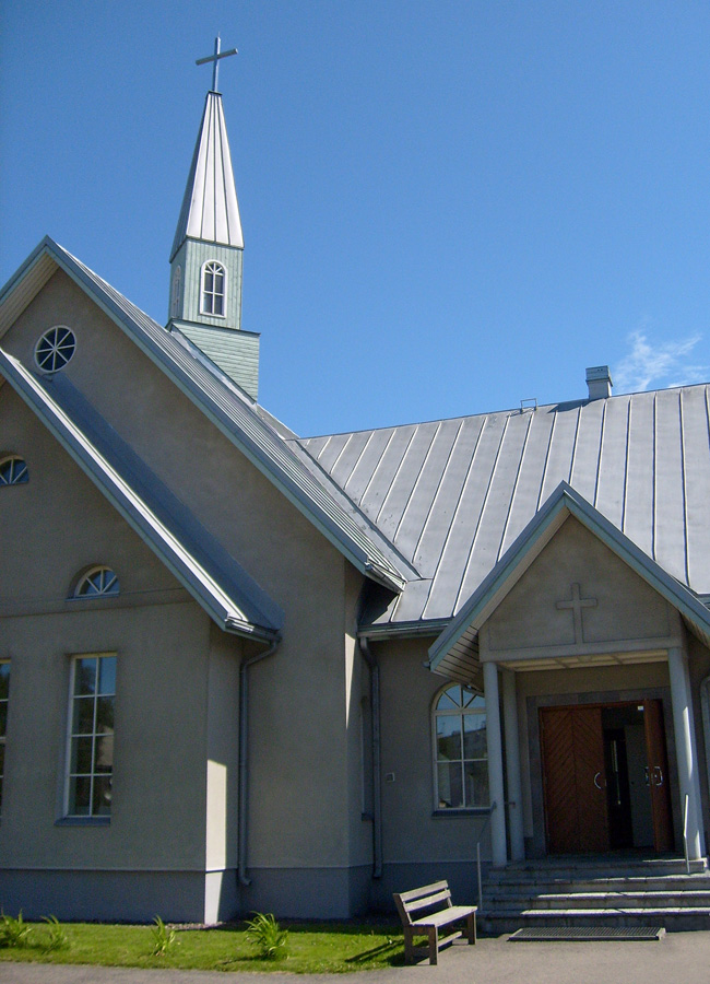 June 29, 2008. Lutheran church in Olonets