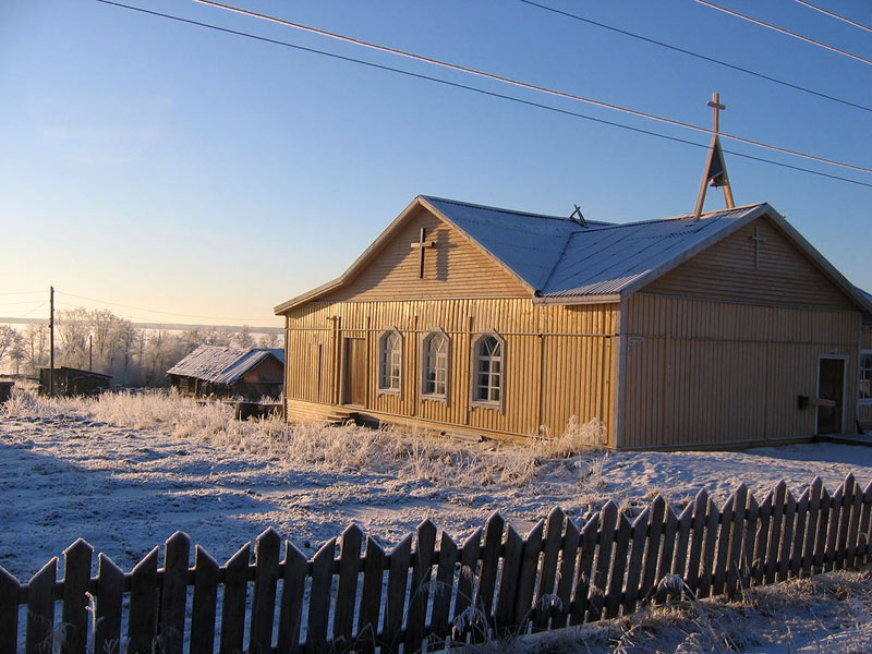 January 4, 2008. Lutheran Church in Novye Peski