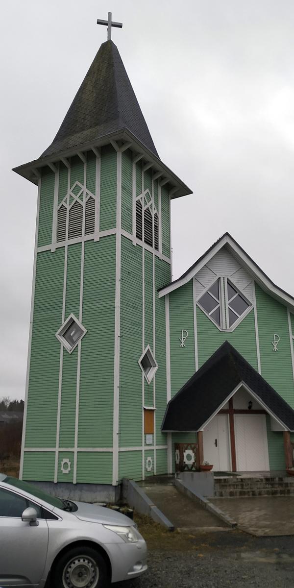 6 декабря 2019 года. Лютеранская церковь в Ляскеля