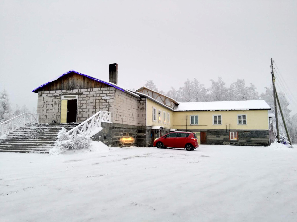 December 25, 2018. Lutheran church in Ruskeala