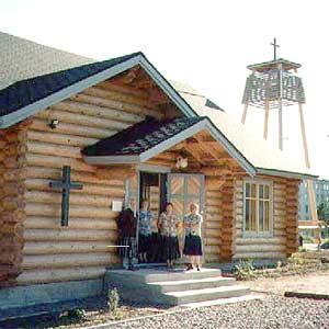 1998 год. Лютеранская церковь в Питкяранта