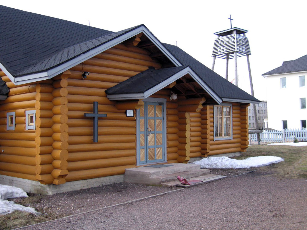 April 22, 2006. Lutheran church in Pitkäranta