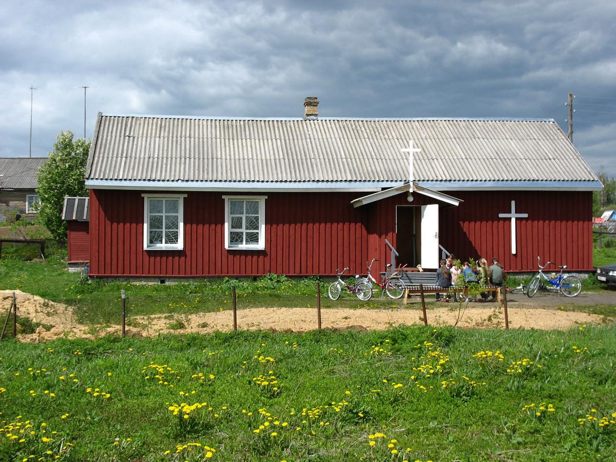 4 июня 2006 года. Приходской дом на станции Деревянка