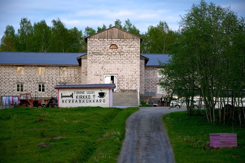 May 2012. Lutheran church in Ruskeala