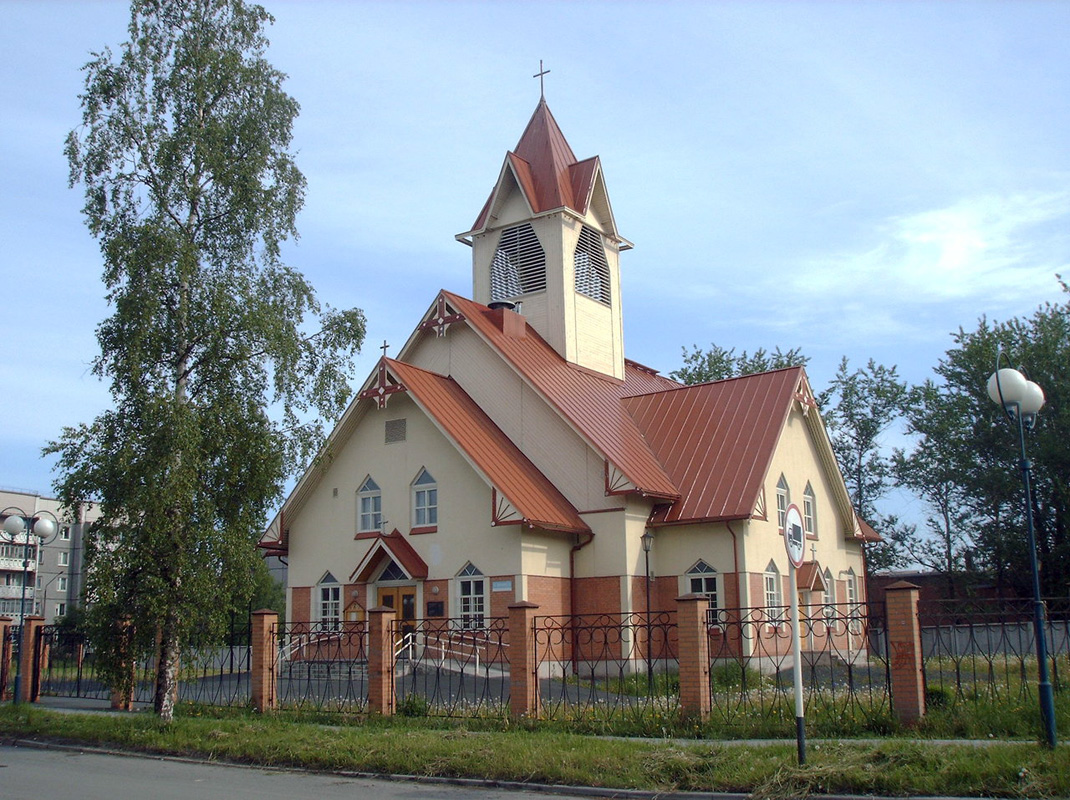 June 11, 2009. Lutheran church in Kondopoga
