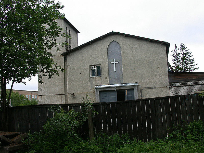 June 15, 2002. Sortavala. Karelia Evangelistic-lutheran Church