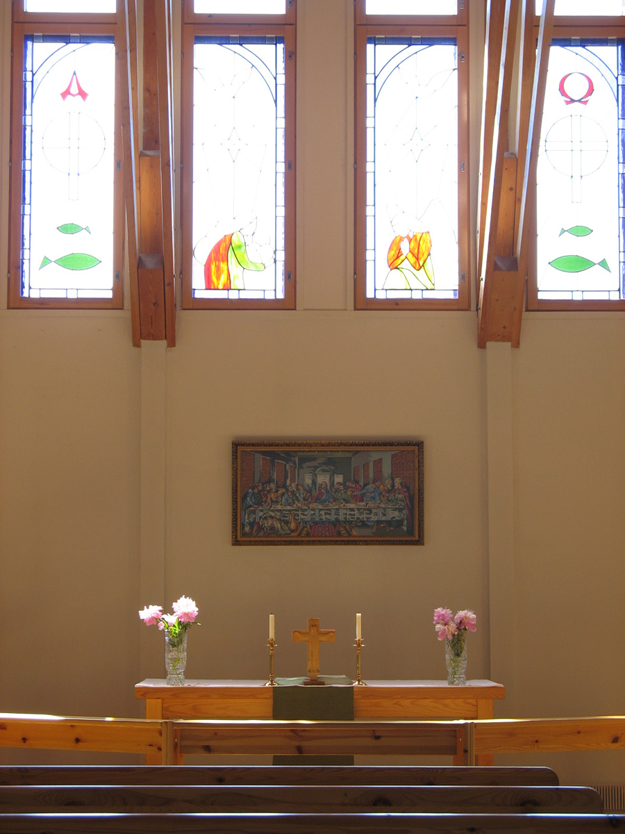 July 2, 2006. Lutheran church in Sortavala