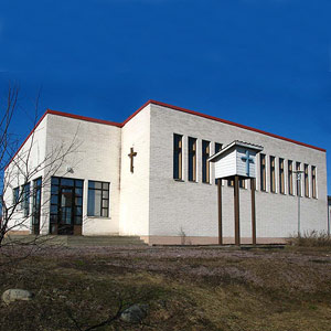 April 23, 2006. Lutheran church in Sortavala
