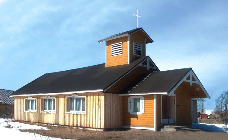 1996. Tshalnan luterilainen kirkko