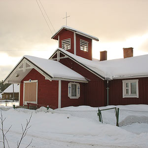 February 25, 2006. Lutheran church in Chalna