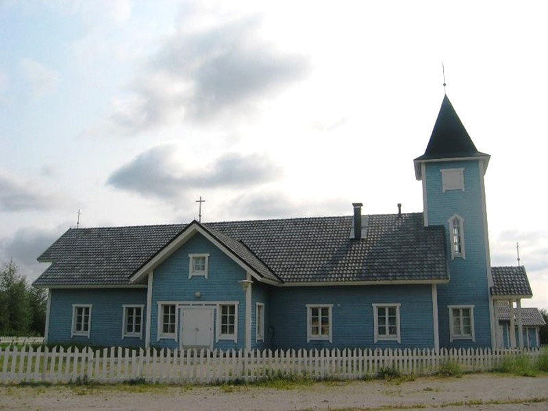 2006. Lutheran church in Kalevala