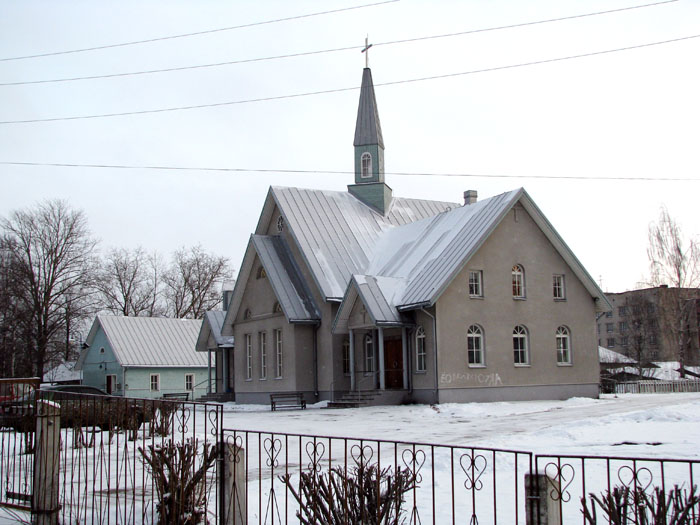 2009. Lutheran church in Olonets