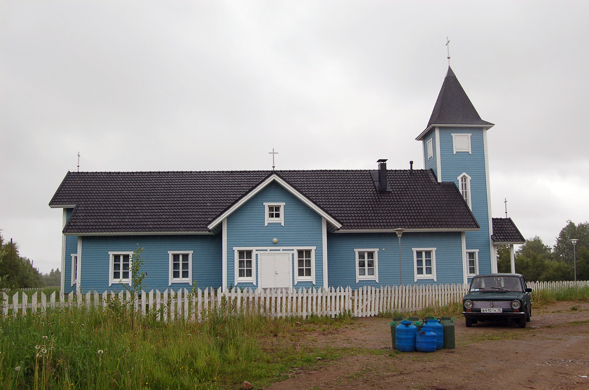 July 8, 2008. Lutheran church in Kalevala