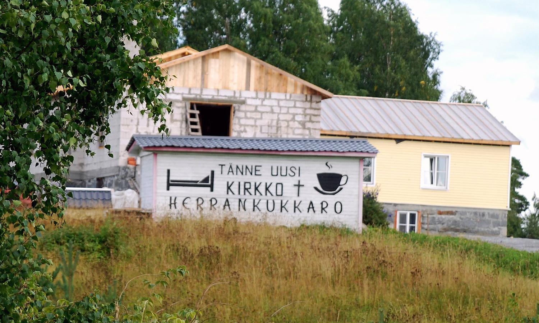 August 12, 2013. Lutheran church in Ruskeala
