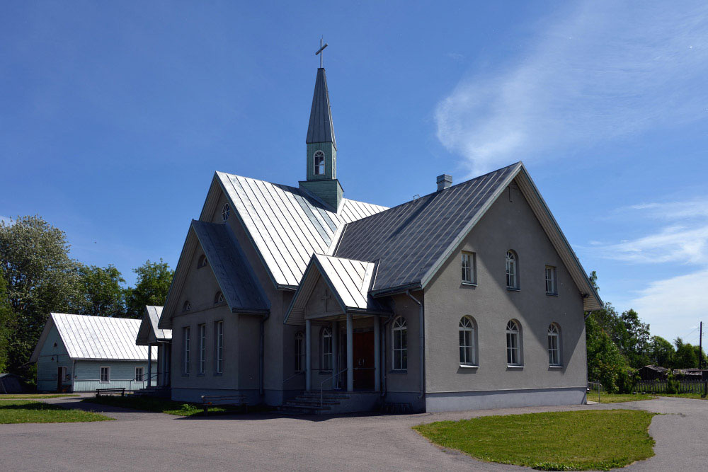 June 16, 2013. Lutheran church in Olonets
