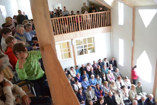 19 июня 2011 года. Лютеранская церковь в Ляскеля