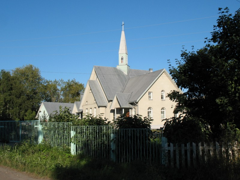 August 20, 2010. Lutheran church in Olonets