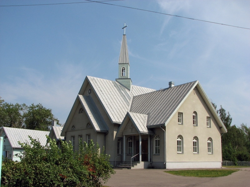 July 16, 2010. Lutheran church in Olonets