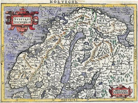 1607. Svecia, et Norwegia etc