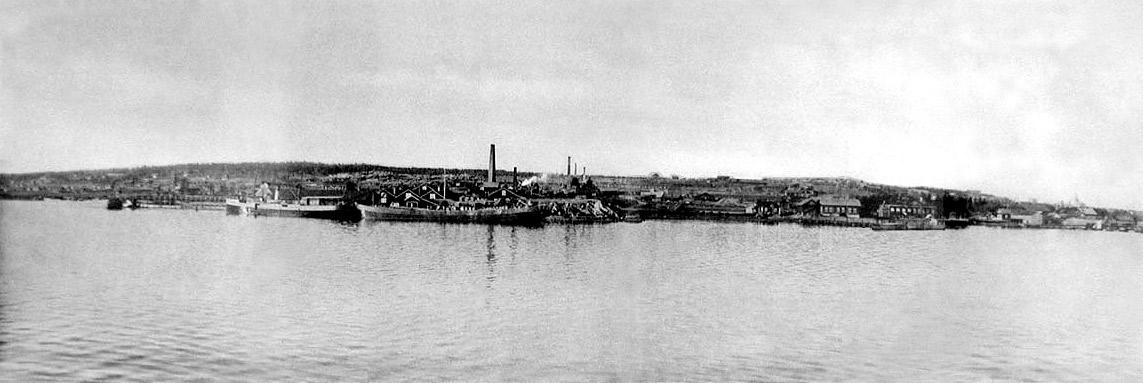 1890-е годы. Питкяранта. Панорама