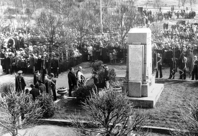 10 июля 1979 года. Питкяранта. Памятник