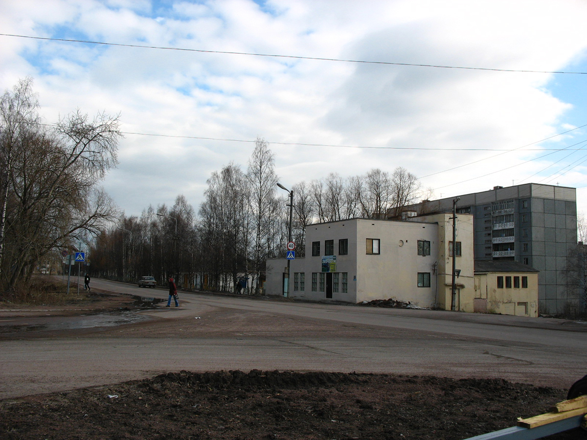 April 22, 2006. Pitkäranta. Lenin street