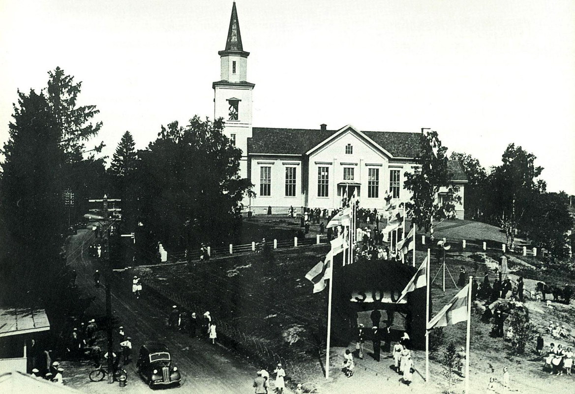 July 23, 1938. Impilahti. Celebration of 300th anniversary of the parish